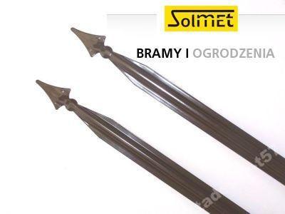Sztachety tralki balaski ogrodzenia metalowe....  www.solmetal.pl