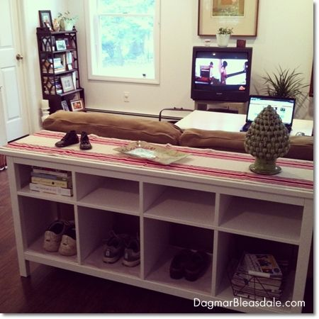 ikea sofa table apartment pinterest