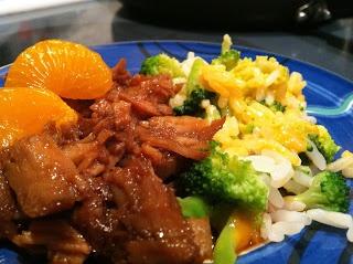 slow cooker orange teriyaki pork tenderloin