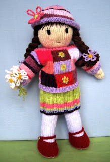 Free Toy Knitting Patterns Only : dollytime: Dolls Crochet and Knit Dolls Pinterest