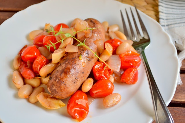 Sausage and White Bean Cassoulet recipe (K and K Test Kitchen)