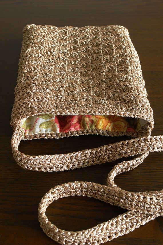 Crochet Mini Bag : Crocheted Mini Shoulder Bag Bags Bags Bags Pinterest