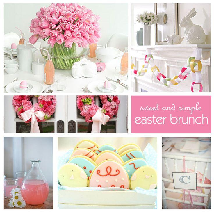 Ideas For Easter Brunch Easter Pinterest