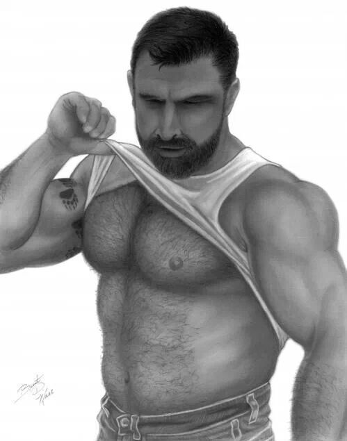 Hot hairy guy! | Hot Hairy Guys | Pinterest