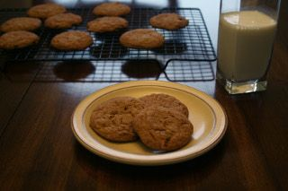 Gluten Free Molasses Crinkle Cookie | Rise Above Gluten