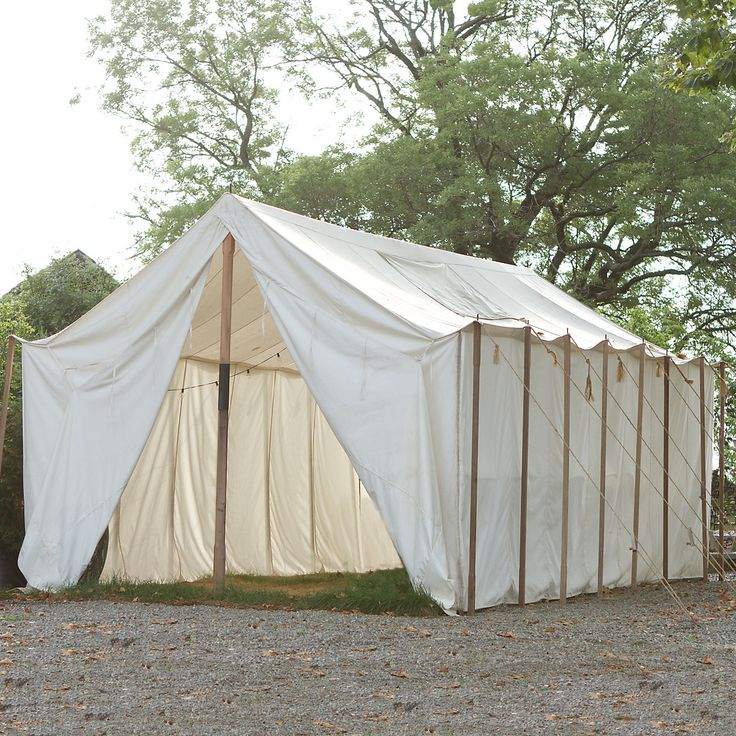Outdoor canvas wall tent for Canvas tent plans