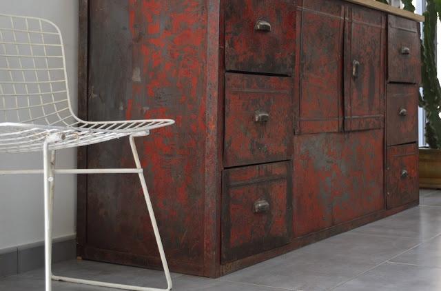 Francs - Dco industrielle et mobilier vintage
