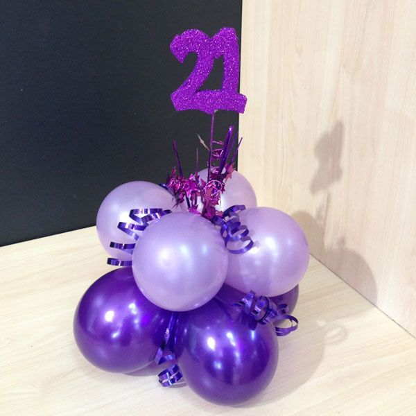 Centerpiece 21st birthday ideas pinterest for 21st bday decoration ideas