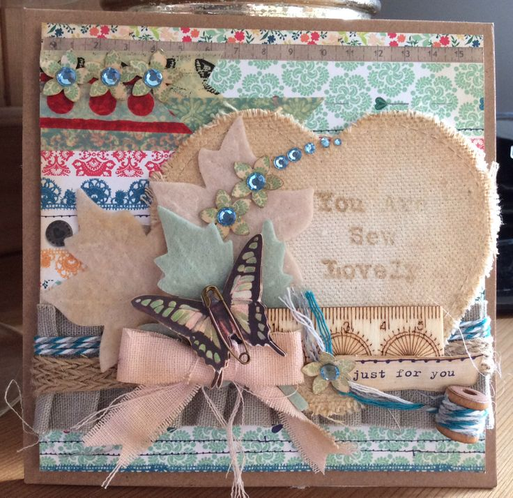 Becky James Sew Lovely Card