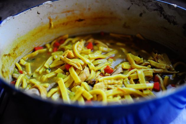... anxious to make this! Pioneer Woman Homemade Chicken and Noodles