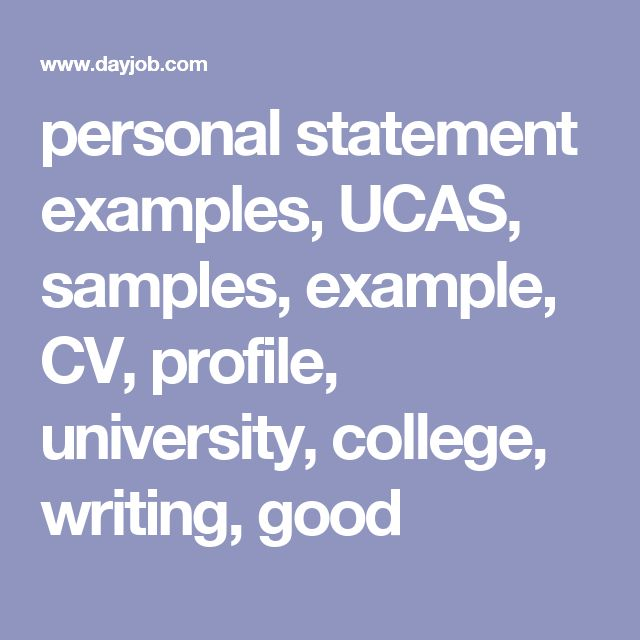 How to Write a Personal Statement for UCAS (with