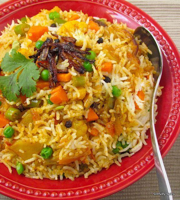 Vegetable Biryani | India | Pinterest