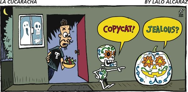 Would love la cucaracha comic new