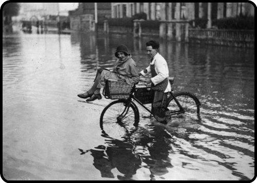 a gentleman always helps a lady across the street….