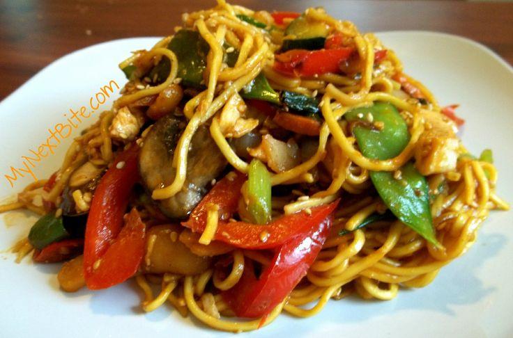 Thai noodles stir fry | Mmm.. | Pinterest