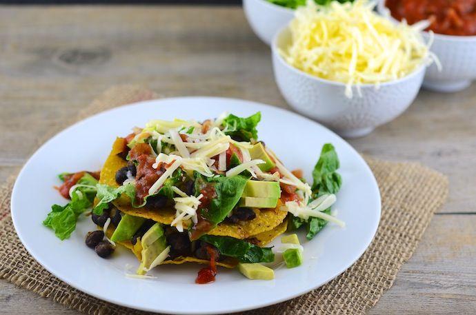 Vegetarian Tostadas | Recipes to Try | Pinterest