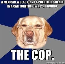 La proxima vez k vayas a hacer un chiste de un hermano Dominicano, recuerdate k mas alante hay gringos haciendolos de ti...