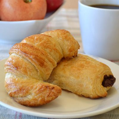 Flaky Butter Croissants (Land 'o' Lakes} -- use for chicken salad ...