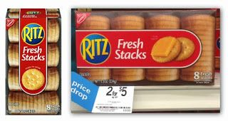 Ritz Fresh Stacks, as Low as $1.50 at Kmart