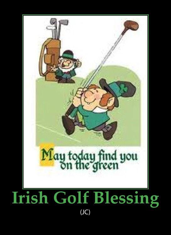 Irish Golf Blessings and Jokes