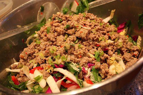 Thai Larb Salad   Recipes   Pinterest