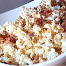 Bacon Chipolte Popcorn...what's not to like?