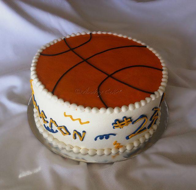 Basketball cake Birthday Cakes for Boys Pinterest