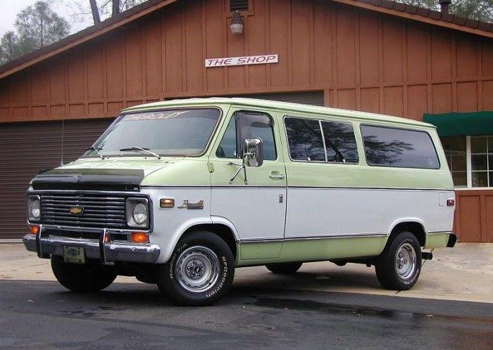 1976 C10 Chevy Van Chevy Van Pinterest
