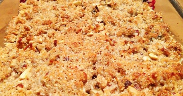 apple & bluberry crumble recipe SF/GF/DF via foodness.com.au I'll be ...