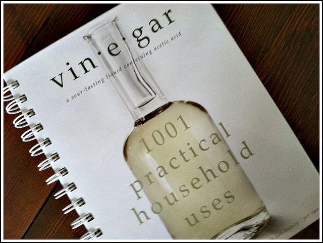 101 uses for vinegar.