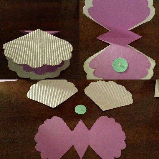 Little Mermaid Handmade Invitations with perfect invitation design