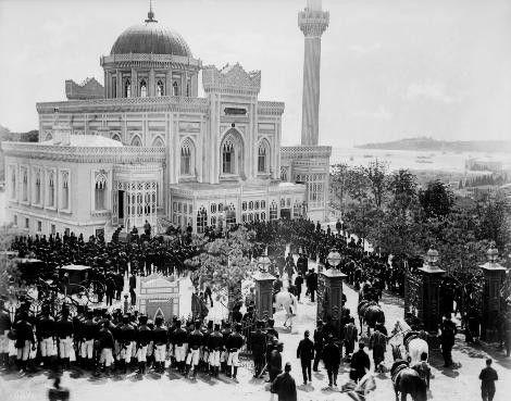 Yıldız (Hamidiye) Camii-nde Cuma Selamlığı, 1880-1893, Beşiktaş