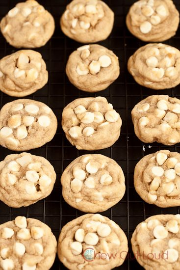 White Chocolate Chip Macadamia Nut Cookies - Chew Out Loud