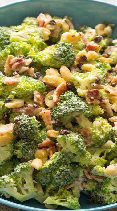 Broccoli Crunch Salad | Rabbit Food & All That | Pinterest