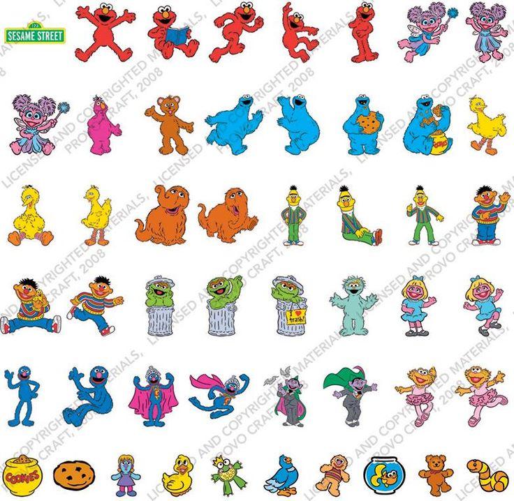 Baby Sesame Street Characters Names Sesame Street Friends ...