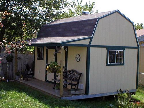 10x16 tuff shed premier tall barn projects to try and for Tuff sheds