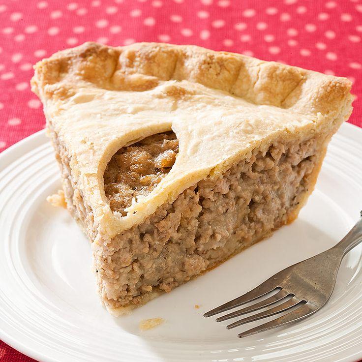 meat lover s ratatouille tourtiere meat pie quebec tourtiere meat pie ...