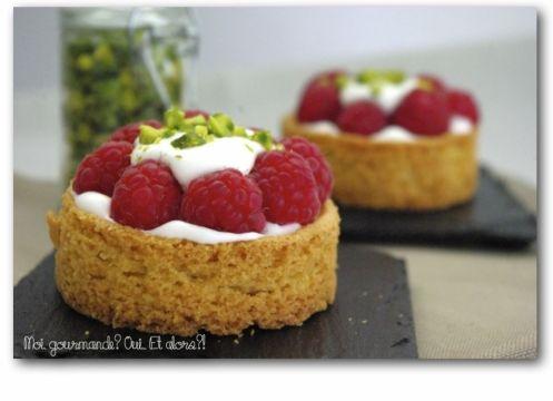 tartelettes-framboises-4 | Pie, Pie, Pies | Pinterest
