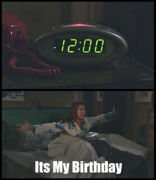 Its My Birthday! This is SO me. Every year