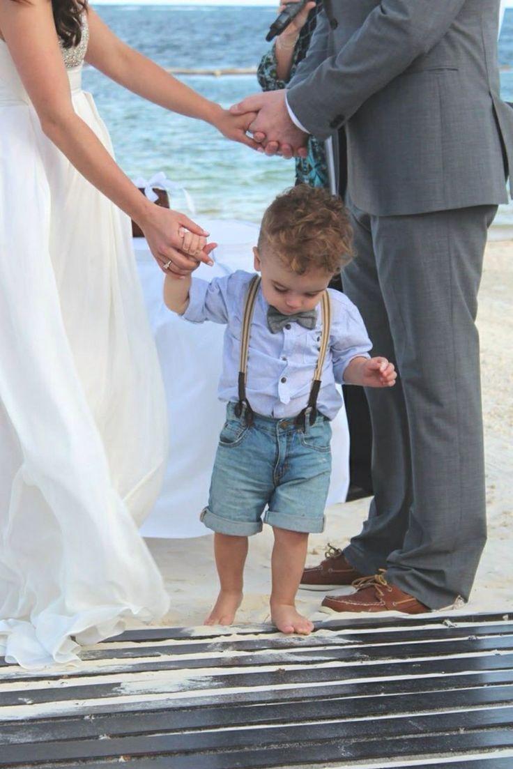 Ring Bearer Beach Wedding