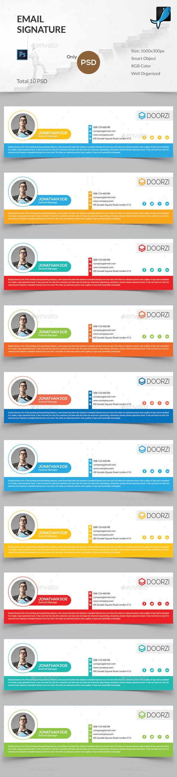 10 best email signature design case studies with tips on