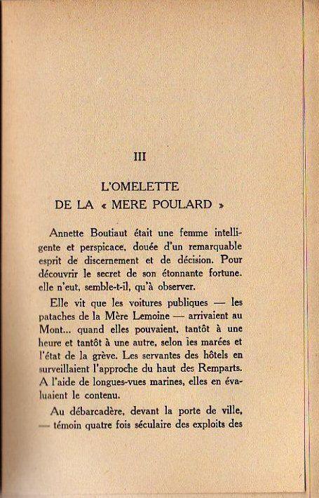 Recette de l 39 omelette de la m re poulard mont saint michel pinter - Omelette de la mere poulard ...
