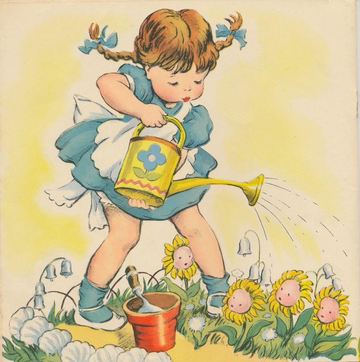 MOTHER GOOSE ~ vintage Little Golden Book #4, Miss Elliott ~ many kids books!