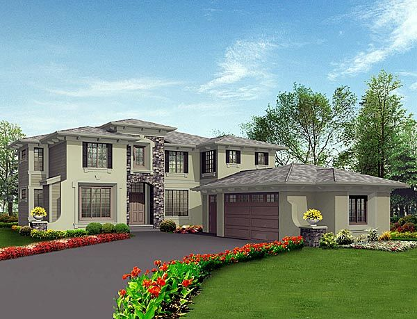 Prairie Style Homes House Plans