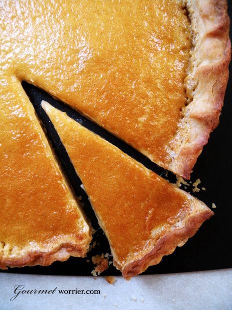 Nutmeg & Maple Cream Tart | Pies, Cobblers, Crisps & Tarts | Pinterest