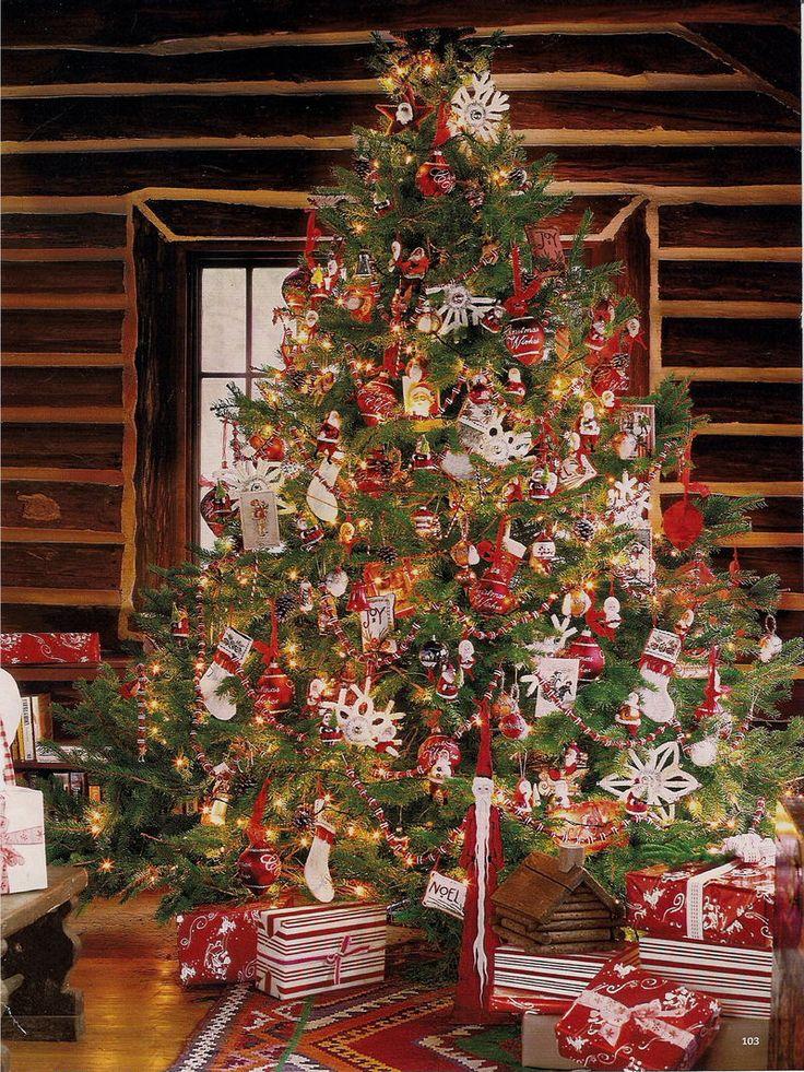cabin style christmas 1 pinterest