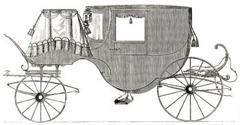 Carriage manufactured by Messrs. Clapp & Son Displayed at the Great