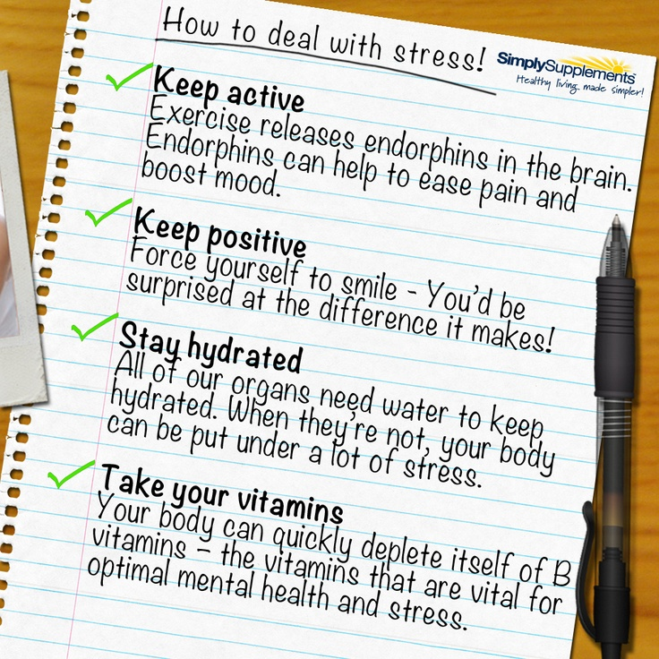how to deal with stress as How to deal with exam stress exams are a crucial part of education and the source of stress for many students in order to avoid crippling anxiety from these pesky.