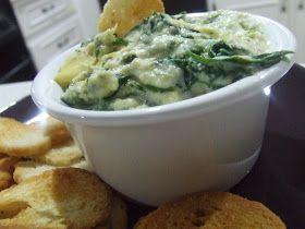 Spinach Artichoke Dip {Dairy & Soy Free} | Gluten Free | Pinterest