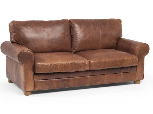 round arm vintage leather sofa deco archi design pinterest